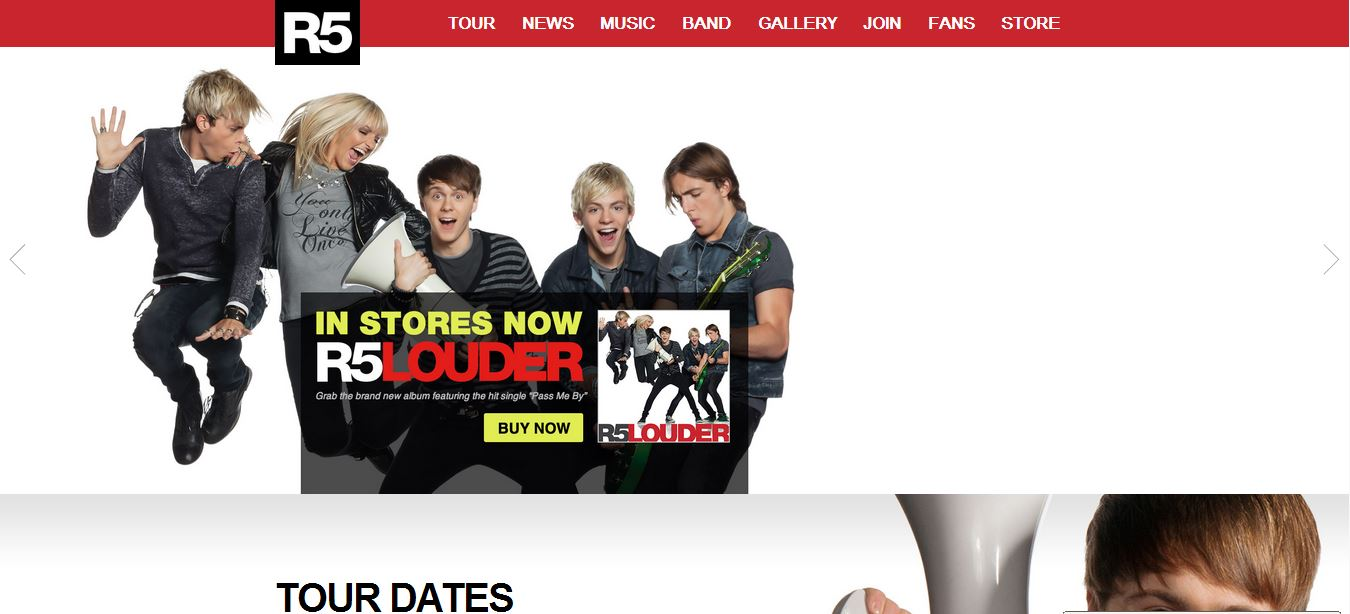 Blog The R5 Fan Pages The R5 Familys 1 Source For All Things